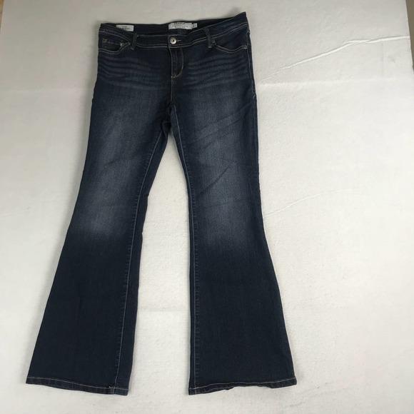 Torrid Luxe Slim Boot Jeans Womens 10S Blue